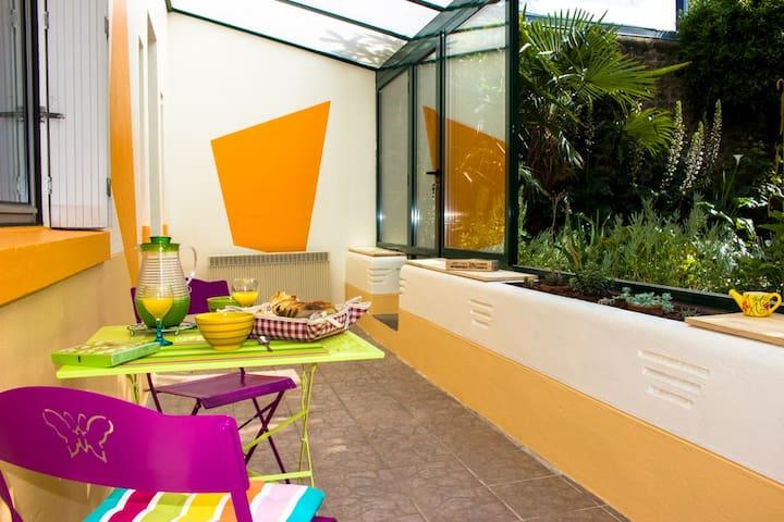 60m² St Malo avec jardin privatif