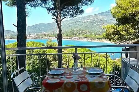 Appartamentini 150mt dal mare vistamare mozzafiato - Marina di Campo