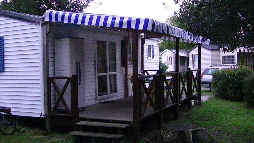 location MOBILE HOME tout confort 4 personnes