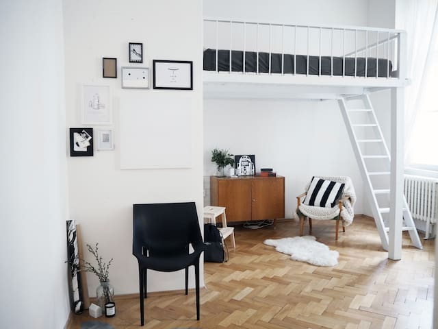 Cosy studio next to Old town square - Prague - Appartement