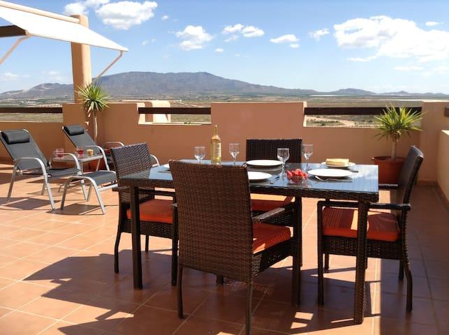 Sun Terrace - 5 bed apartment - Alhama