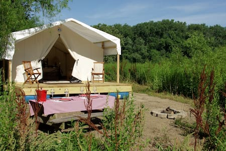 Glamping St. Louis-Willow Haven - Saint Charles - Tente