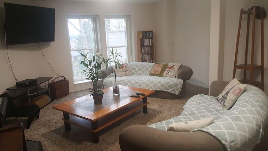 Bright sunny Living room area