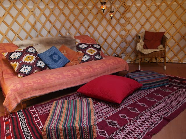 Cosy authentic Mongolian Yurt in County Wicklow