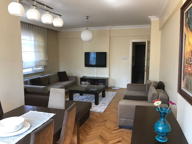 Fully Furnished and Luxury 4 room cosy flat - Kadıköy - Leilighet