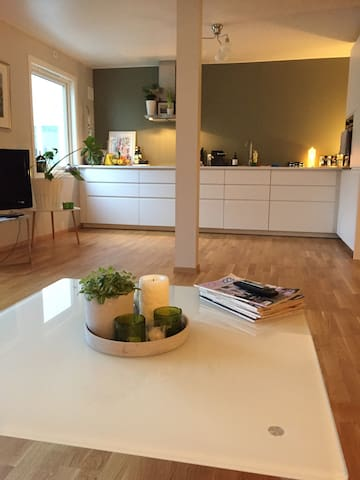 Central, beautiful, modern apartment in Stavanger