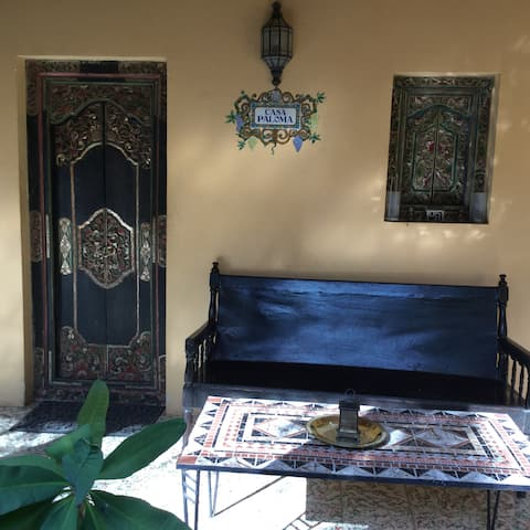 Casa Paloma - paradiesische Hüttenseite