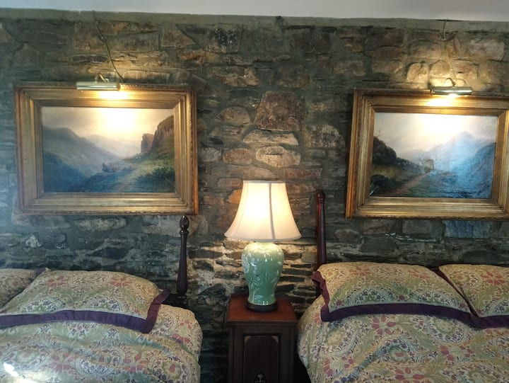 Kilmokea Double or Twin-Superior-Peacock Room