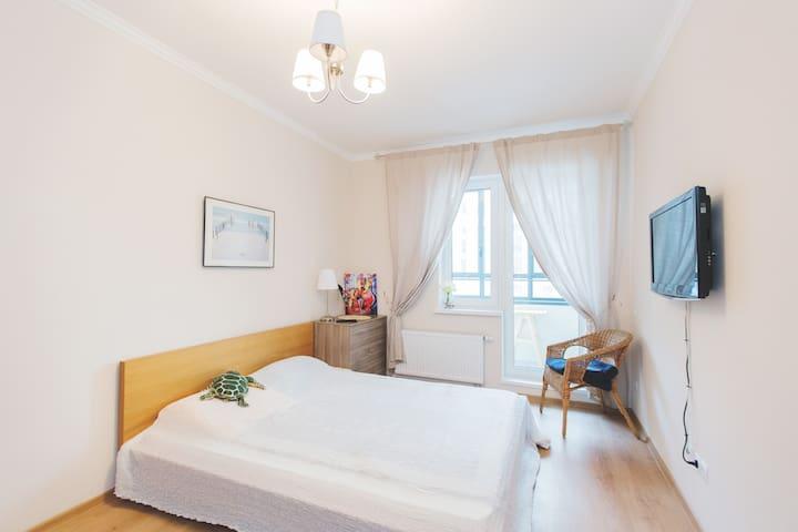Уютная квартира с видом на Неву! - Pietari - Huoneisto