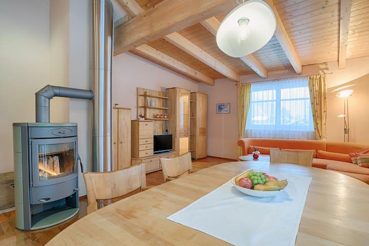Appartement 90m²  + GRATIS Wellness für Wintergast
