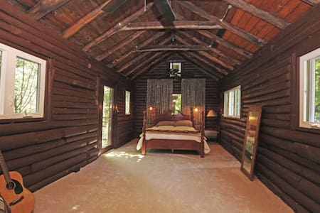 Historic Private Log Cabin (room) in Forest Lodge