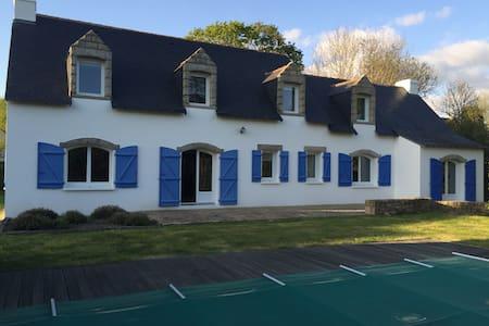 Belle villa 9p. proche de la mer, piscine chauffée - La Trinité-sur-Mer