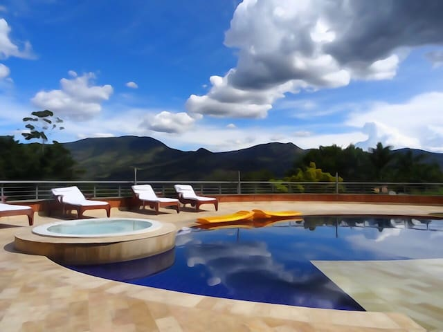 A piece of Paradise in Medellin - Bello - Bed & Breakfast
