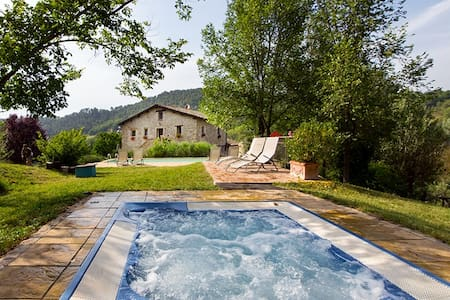 17th century old VILLA pool&hot tub