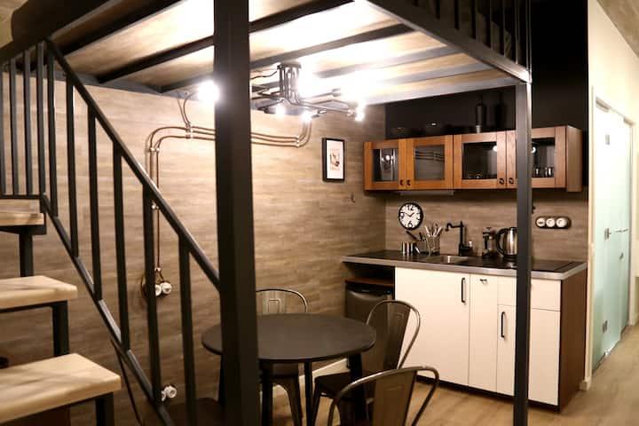 Апартаменты-студио ЛОФТ
