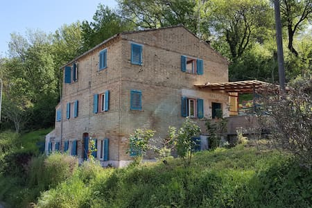 Spacious rural views Gas Heating Log Fire - Servigliano - Dom