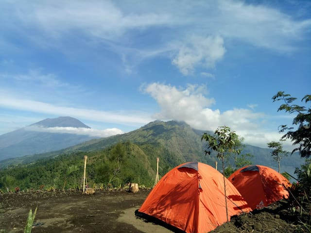 Sunrise Camp in Kintamani (Tent & Breakfast only)