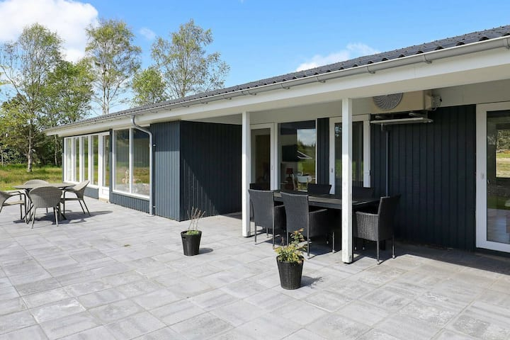 Exotic Holiday Home in Bindslev with Conservatory