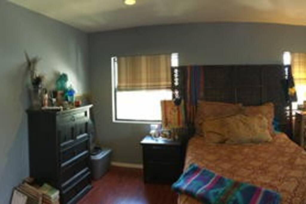 Zen master bedroom