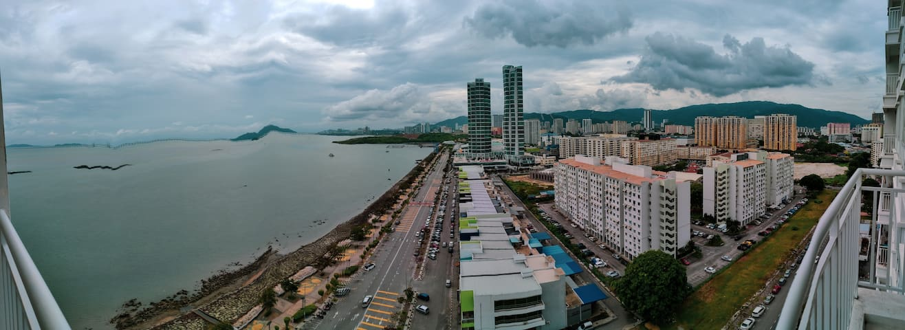 #AlwaysClean Sea View  Condo Strategic Location