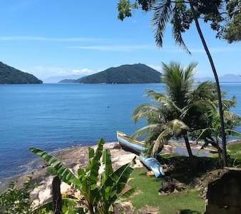 Paraty-Mirim, frente ao mar, privacidade e paz