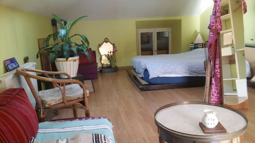 Maison atypique surf/voyage Anglet - Anglet - House