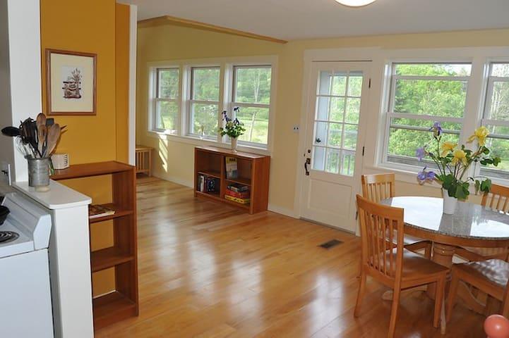 Peaceful cottage in Vermont - Peacham - Talo