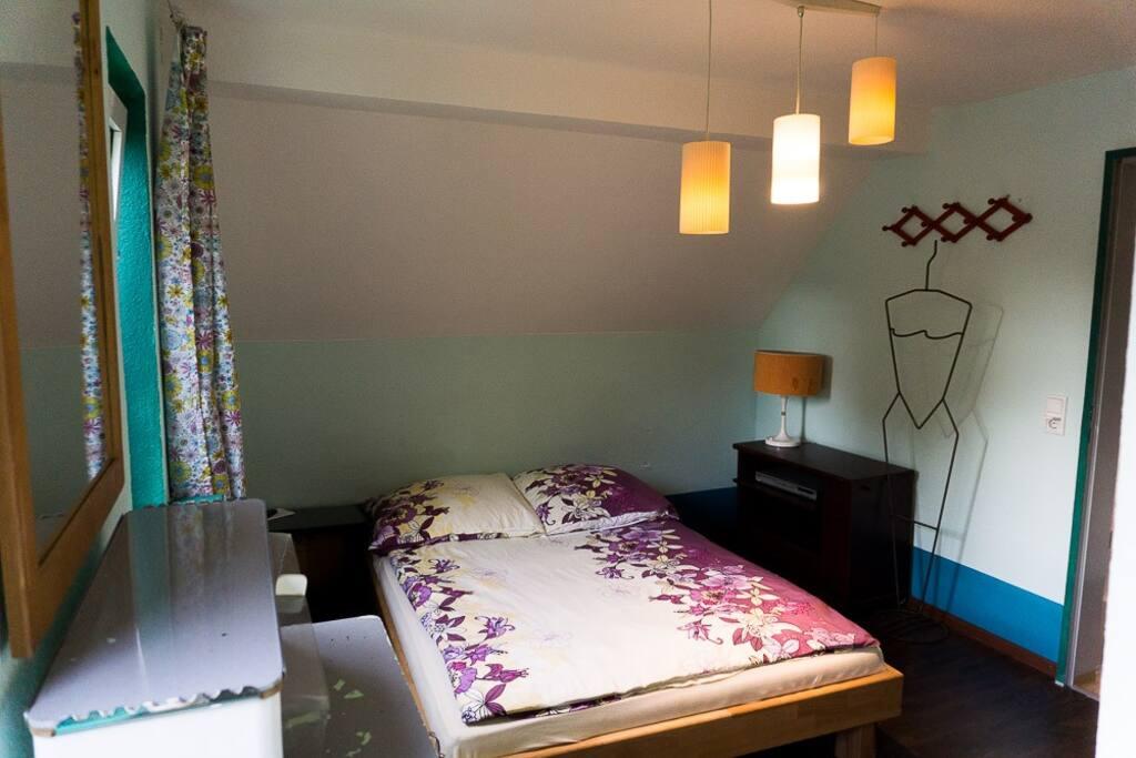 Zimmer m Badezimmer, Küchennutzung, nähe Messe Häuser zur Miete in Düsseldorf, Nordrhein