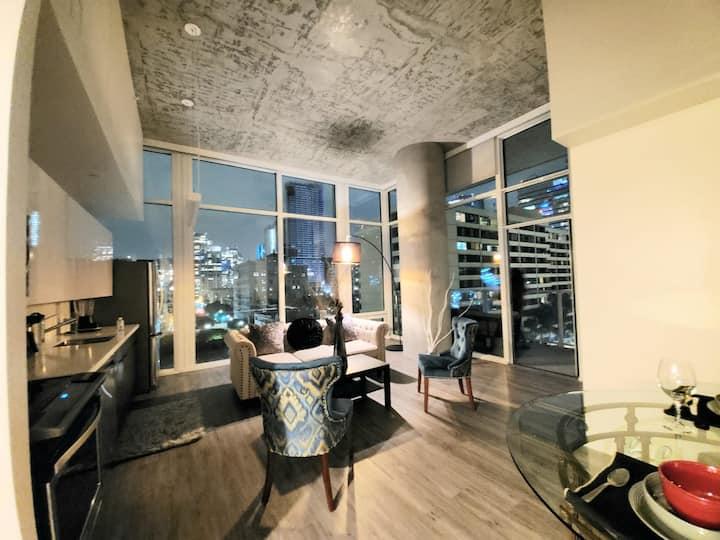 Luxury high rise apt DTLA  amazing views