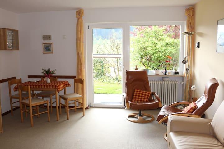Ferienwohnung Schubert-Stein, (Waldkirch), Ferienwohnung, 1 Wohn-/Schlafraum, max. 2 Person