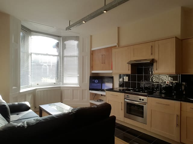 Old Town, High Spec 1 bed + Fast Wifi + Parking - Swindon - Flat
