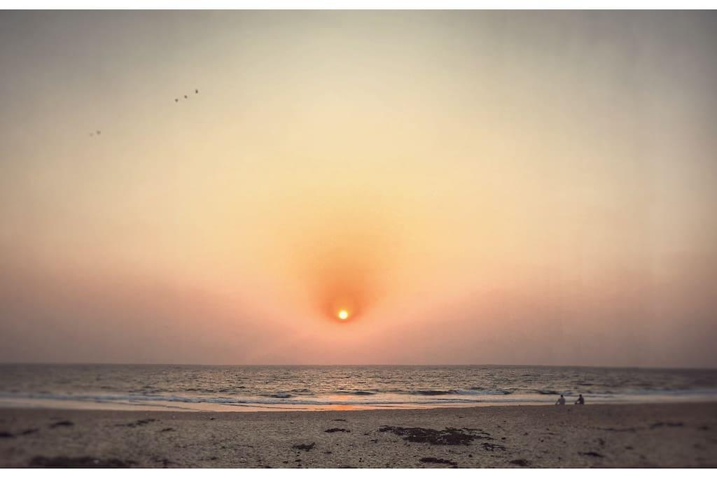 Sun Set.......
