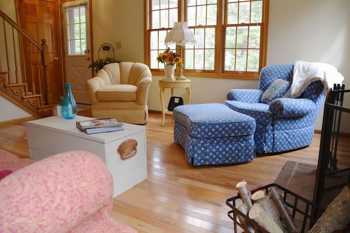 living room-t.v