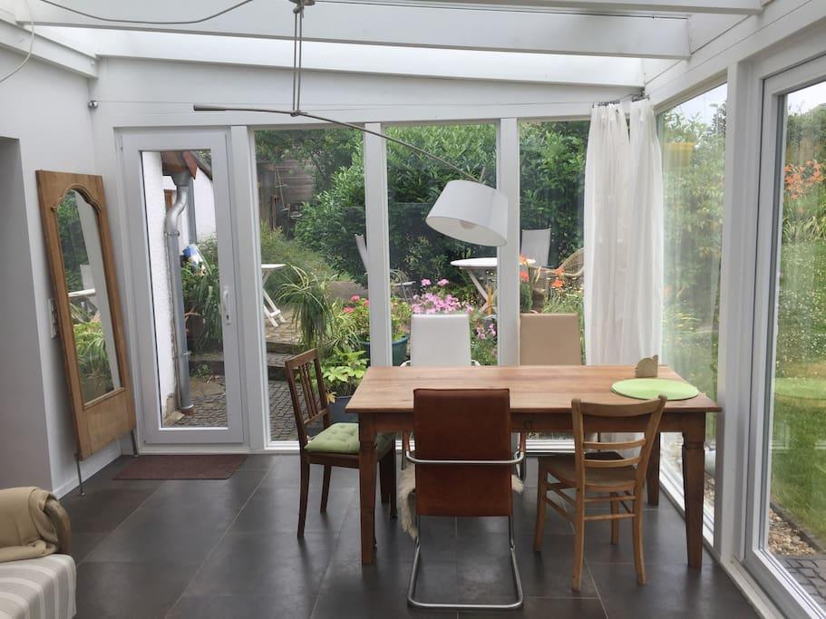 gem tliches haus mit wintergarten h user zur miete in lohmar nordrhein westfalen deutschland. Black Bedroom Furniture Sets. Home Design Ideas