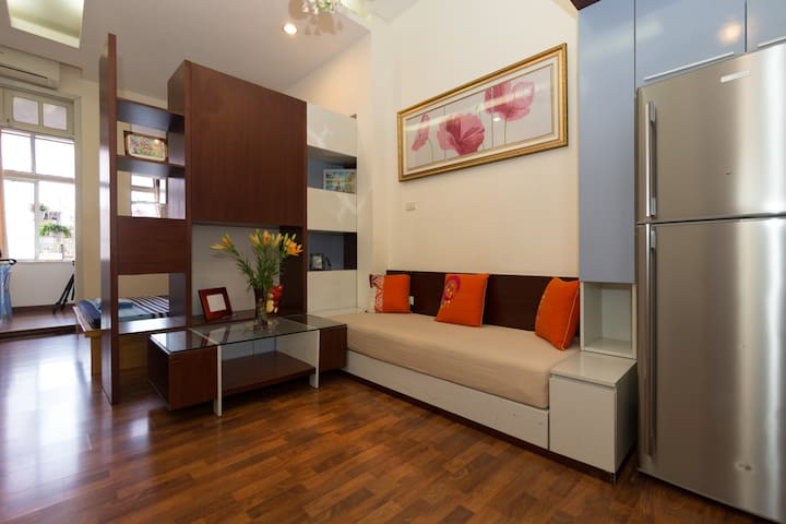 Stylish and Cosy Apartment in Hanoi - Hanói - Flat