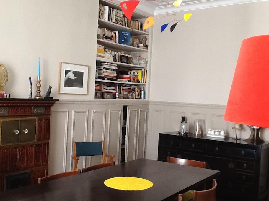salle à manger/bureau