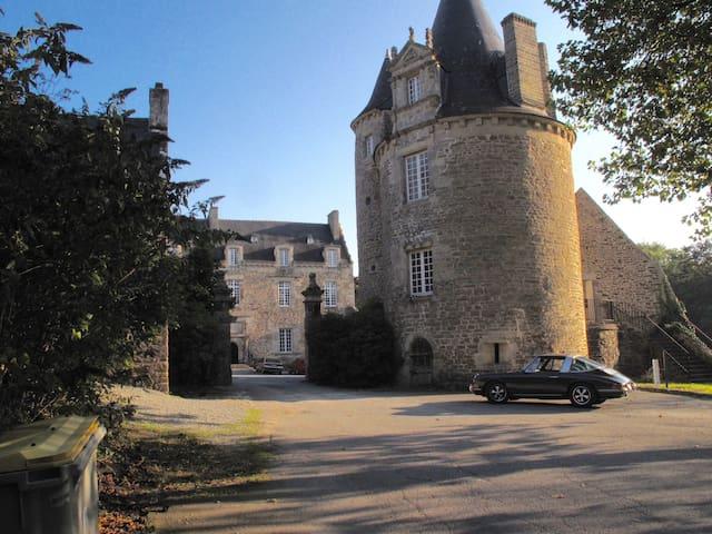 La vie de Château à Dinan :  55 m2 de caractère - Dinan - Apartamento