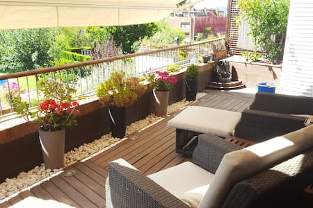 Quite beautiful apartment close to airport and Bcn - Sant Just Desvern