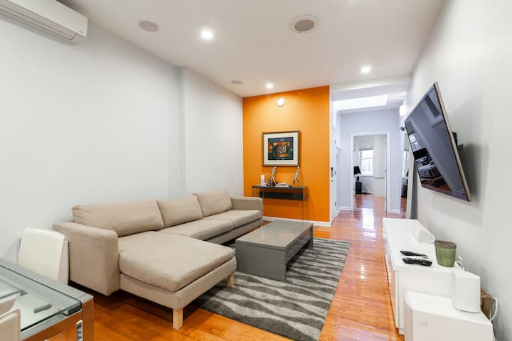 Modern luxury professionally cleaned apartment