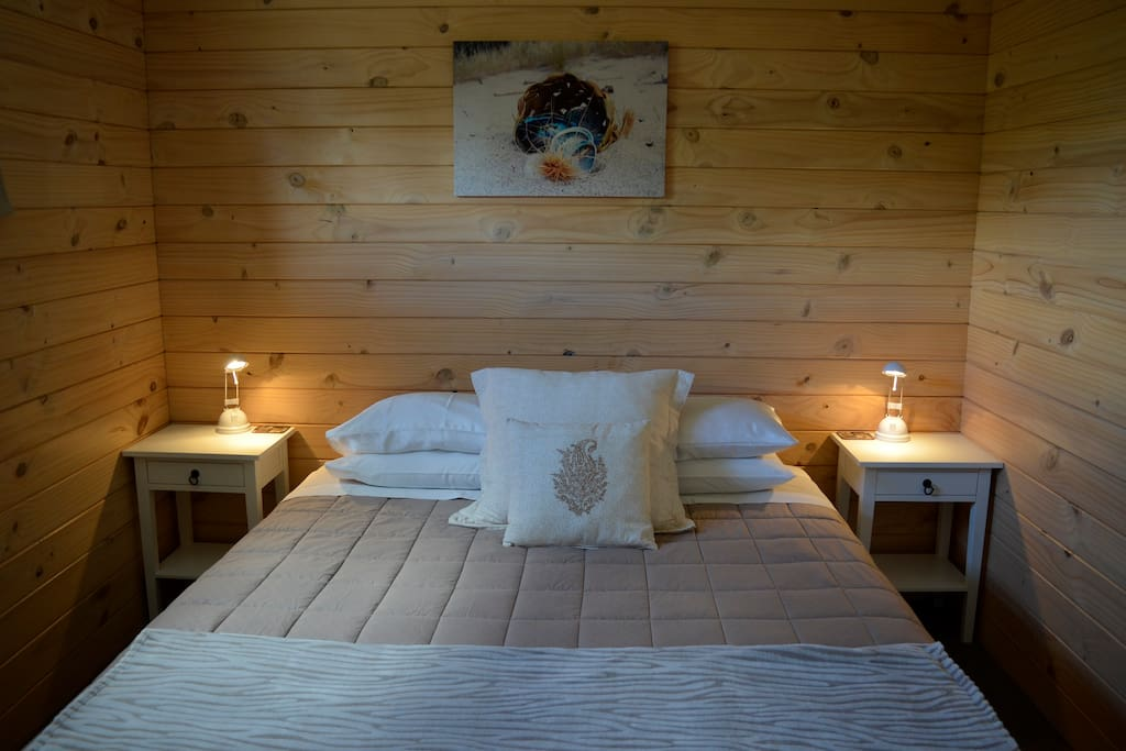 Quality King size bed in one room