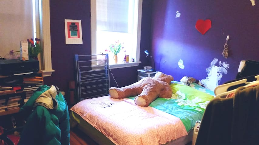 Cute bedroom in the Allston area - Boston - Byt