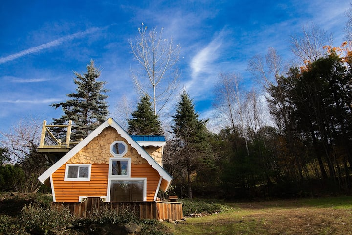 Tiny House w/view at Setu Vermont Retreat