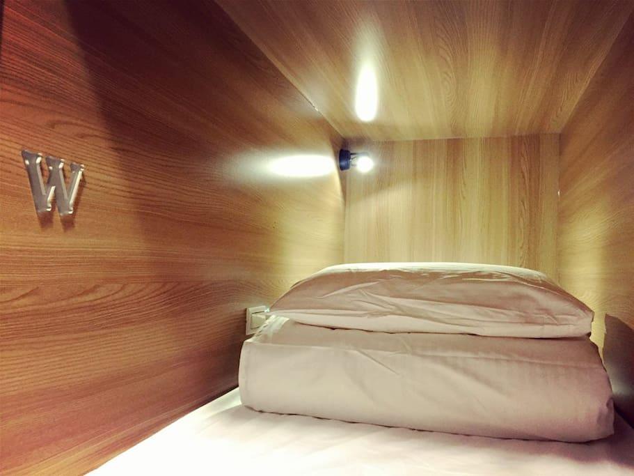 舒適BOX混合住宿區