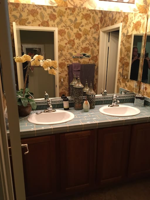 View of the bathroom for renters