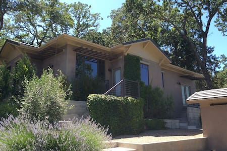 Contemporary 1BR wine country home - Calistoga - Huis