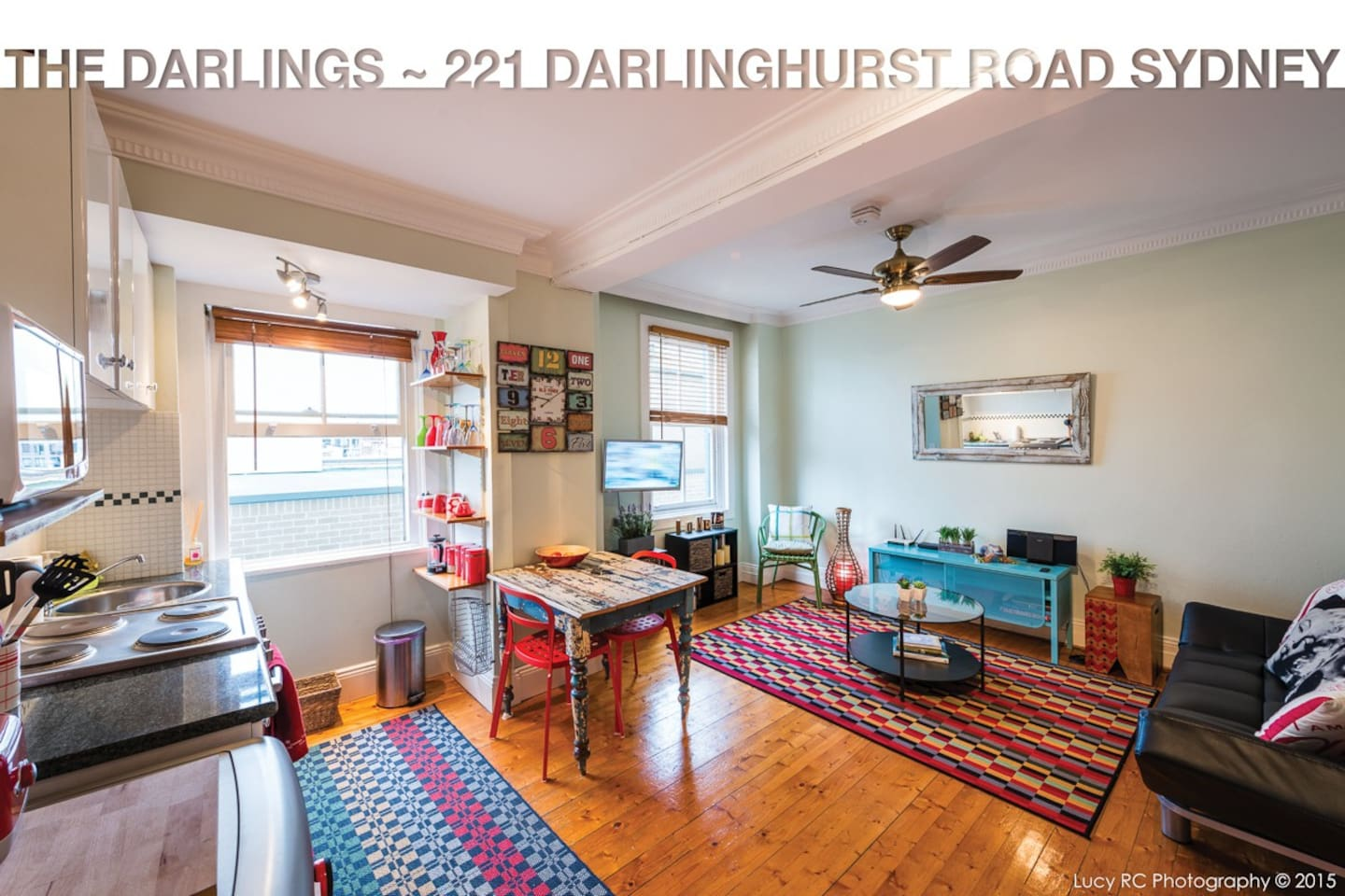 Spacious one bedroom unit with natural light