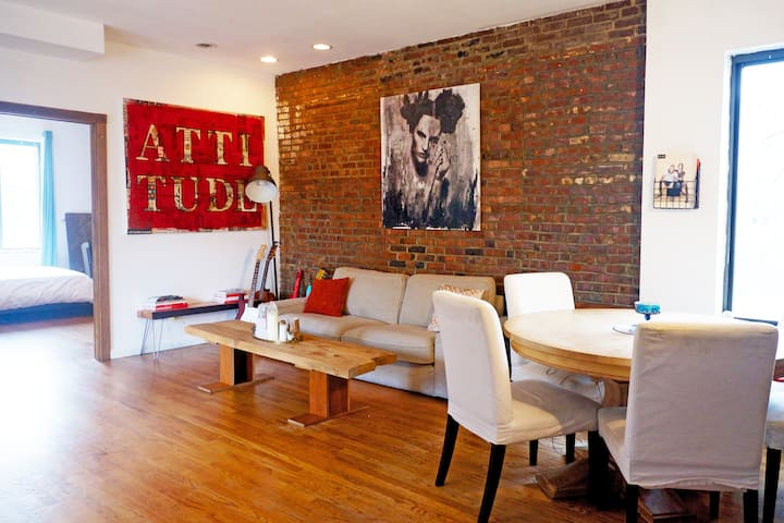 Artist Loft in Williamsburg with private rooftop!