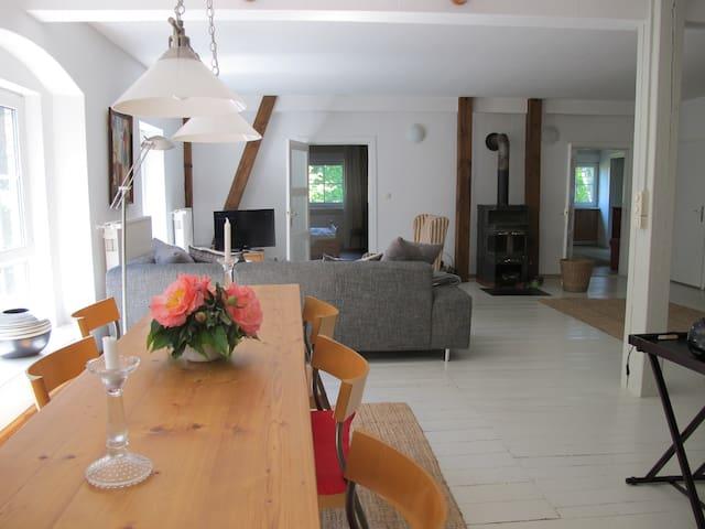 Große Ferienwohnung im Stall - Wardow - Apartment