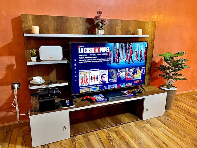 Cosy Apartment Well equipped (4KTV, Netflix, Wifi)