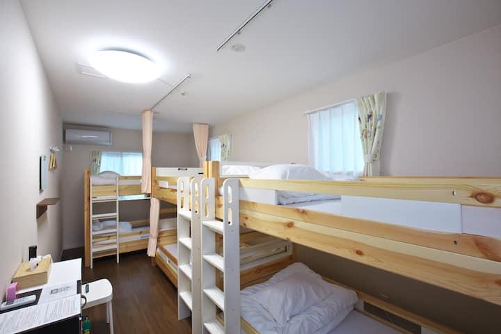 10min walk to Himeji Castle,Female dormitory